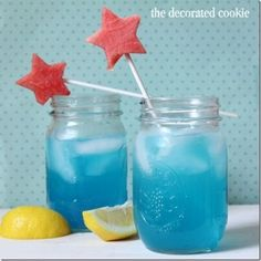 Drink Recipe for 4th of July! | Mason Jar Crafts Love