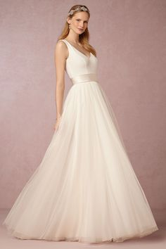 Fabienne Gown from @BHLDN