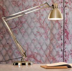 Lampe  poser d extérieur LED Anthracite Transparent Cuivre L60cm