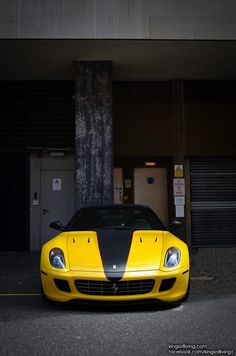 Exclusive Pleasure Crash Test Ferrari 599 Novitec Rosso By Kings Of Living Thad Tong Yellow Cars