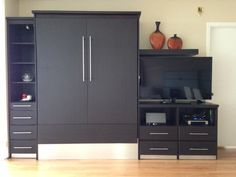 Wengue Contemporary Murphy Bed | http://murphybedsales.com - wengue contemporary murphy bed #45