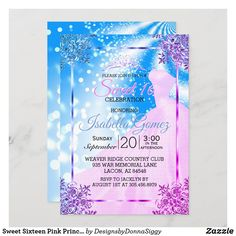 Sweet 16 Invitations, Zazzle Invitations, Birthday Invitations, Custom Postage Stamps, Exactly Like You, Kids Up, Pink Princess, Party Fun, Sweet Sixteen
