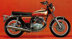 Yamaha 750 twin, a trouble-full engine.