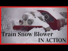 Biggest Snowfall vs Train Snowblower - (HD, Train Snow Blower in Action Train Snow Plow - Rotary Snow Plow Blower On this particular mission, the snow. Snow Plow, Rotary, Big, Youtube, Train, Youtubers, Youtube Movies