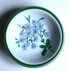 Potinho flores - Azul