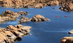 Kayaking Watson Lake - Prescott, Arizona