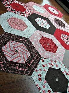 easier hexagons quilt tutorial