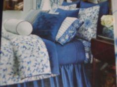 Chaps Home King Comforter Set - Camellia Blue #ChapsHome