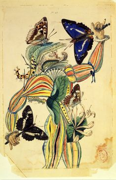 Illustration for Tres Picos by Salvador Dalí, 1955. Watercolor and ink on paper, 10 ¾ x 7 ¼ inches. Salvador Dalí Museum, St. Petersburg, FL.