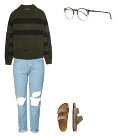 Untitled #10 by emilyrosal3s on Polyvore featuring polyvore, fashion, style, Haider Ackermann, Topshop, TravelSmith, Oliver Peoples and clothing