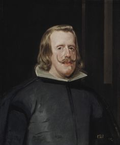 King Philip IV of Spain, 1653 // by Velazquez