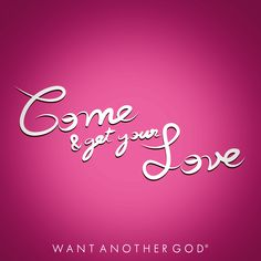 - Come & get your Love - Cleared Type by Wantanothergod #typography #Colors #art #design