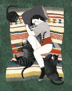 Kattenvrouw by Lieke