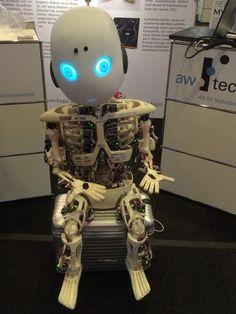 3ders.org - 3D printed Roboy robot shows emotions & replicates human response | 3D Printer News & 3D Printing News