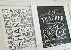 Coffee, Crafts & Cupcakes: Teacher Appreciation {5 days of Gifts}