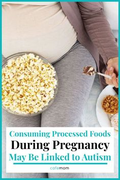 Consuming Processed Foods During Pregnancy May Be Linked to Autism: Did you know that consuming processed foods during pregnancy exposed the unborn baby to risk of Autism? Here is an insight into this finding. Food During Pregnancy, Early Stages Of Pregnancy, Health And Nutrition, Health Tips, Digestive System Problems, Fitness Diet, Health Fitness, Nervous System Function, Gastrointestinal Disease