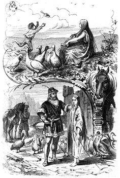Die Gänsemagd (Illustrationen) – Grimm-Bilder Wiki