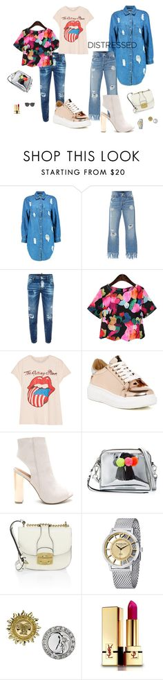 """""""Sugar Plum Fairy"""" by chelsofly ❤ liked on Polyvore featuring Boohoo, 3x1, Dsquared2, MadeWorn, Steve Madden, Rebecca Minkoff, Miu Miu, Stührling, Ana De Costa and Yves Saint Laurent"""