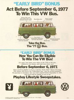 Take the bus VW Bus Ad