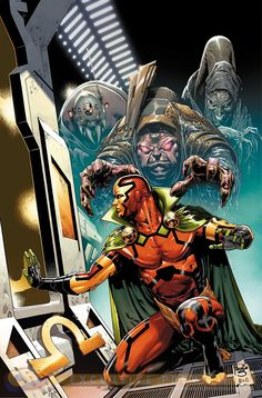 Outgunned, outnumbered, and outmatched, The World Army led by Mister Miracle and Big Barda begin their invasion of Apokolips! Marvel Dc Comics, Dc Comics Superheroes, Dc Comics Characters, Dc Comics Art, Marvel Vs, Dc Heroes, Comic Book Heroes, Comic Books Art, Gi Joe