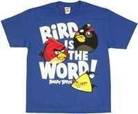 Angry Birds Word Youth T Shirt This is an officially licensed Angry Birds youth t-shirt.  male - child  $15.99 from Stylin Online