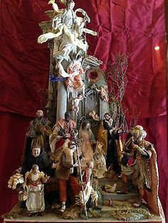 casa scenografia presepiale PRESEPE NAPOLETANO Neapolitan tempio crib