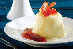 Η ιταλική πανακότα δένει αρμονικά με μια από τις πιο παραδοσιακές ελληνικές γεύσεις, όπως είναι τα γλυκά του κουταλιού.
