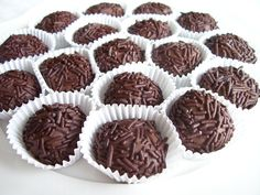 Brazilian Chocolate Truffle (Brigadeiro) - Paleo, dairy and sugar free