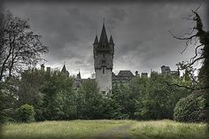 The abandoned castle deep in the forest, via Flickr.