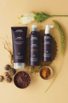 Aveda Invati - Thickening, Revitalizing and helping to arrest hair breakage and thinning.