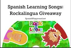 Giveaway One-Year Subscription! Enter through midnight Mon. Sept 28. Rockalingua has great music in Spanish for the elementary grades. Fun songs, videos and games teach basic grammar and vocabulary that fits any curriculum.
