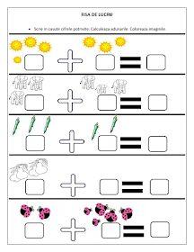 First Grade Math Worksheets, 1st Grade Math, Letters For Kids, Math For Kids, Preschool Worksheets, Preschool Activities, Homework Sheet, Math Addition, Teaching Kids