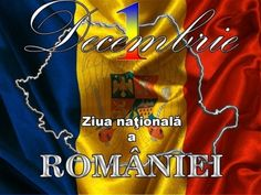 of December is very important; in 1918 all the regions unified at Alba Iulia, Alba county, Transylvania. I am proud to be from Alba Iulia! 1 Decembrie, Happy National Day, Visit Romania, Neon Signs, In This Moment, Blog, December, Google, Cards