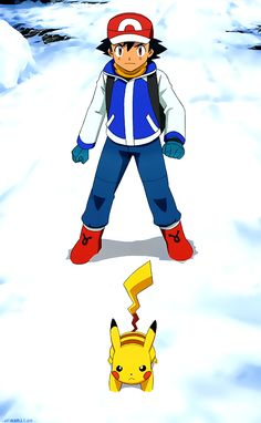 Why does Ash remind me of a water bender in that outfit...?
