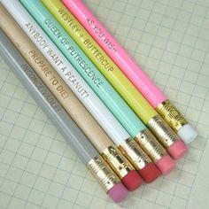 Princess Bride pastel pencil set of 6
