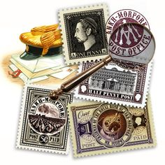 Discworld Stamps, Going Postal