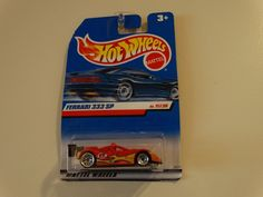HOT WHEELS 1998 FERRARI 333 SP 11 OF 36 #HotWheels #Ferrari