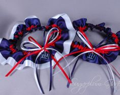 ny giants garter on Etsy, a global handmade and vintage marketplace.
