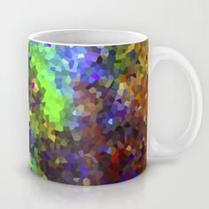 Aquarela_Textura digital  Mug by Amanda Araujo - $15.00