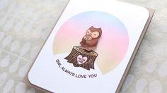 Soft Blending with Circle Mask (Card for Mom) – kwernerdesign blog