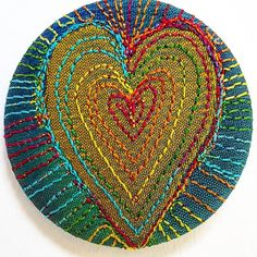 Stitched Silk Badge £2.99