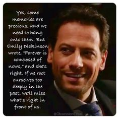 """Yes some memories are precious, and we need to hold onto them. But Emily Dickison wrote, ""Forever is composed of nows"" and she's right. If we root ourselves too deeply in the past we'll miss what's right in front of us."" #RenewForever"