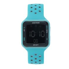 Armitron Square Dial Digital Chronograph Watch - Gray/Grey
