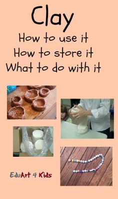 Clay projects for kids: How to make pinch pots, clay beads and other fun clay stuff