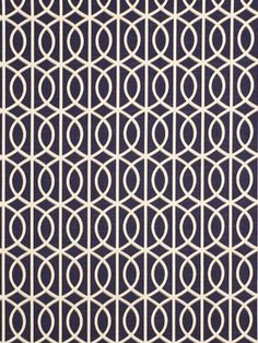 Cobalt Blue Upholstery Fabric by the Yard - Blue Geometric Fabric