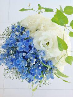 #novarese#vressetrose #Wedding #blue #purple #Bouquet #natural #Flower #Bridal #ノバレーゼ#ブレスエットロゼ#ウエディング #クラッチブーケ#ホワイト#水色# ブーケ #ラウンドブーケ#結婚式#トルコキキョウ#デルフィニウム