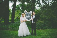 Jennifer & Jonathan's Classy Cat Wedding A Practical Wedding: Blog Ideas for the Modern Wedding, Plus Marriage