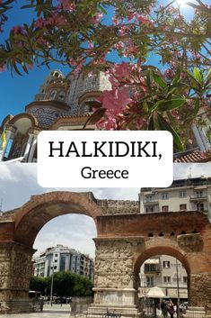 Located on the coast of mainland Greece, Halkidiki is one of Greece's less well-known holiday destinations - perfect for a relaxing summer break. Greece Itinerary, Greece Travel, City Breaks Europe, Travel Around The World, Around The Worlds, Halkidiki Greece, Greece Photography, Paragliding, Secret Places