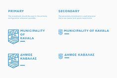 Branding for the City of Kavala on Behance