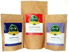Hemp Seed Food Bundle | Hulled | Toasted | Protein Powder $24.99